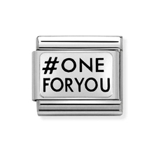 #One for you - moduł do bransoletki NOMINATION Composable 330109/29 42878