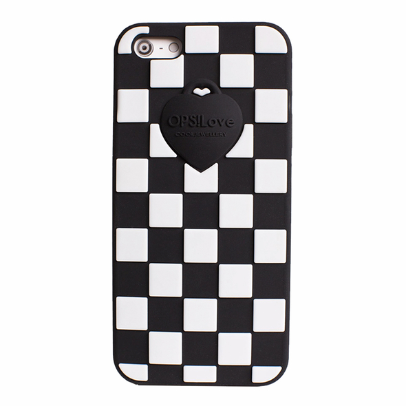 OPSCOVI5-06 OPS! Damier etui na IPhone 5/5s